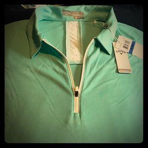 Callaway Ladies Golf Shirt (turquoise) XL